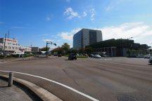 金沢駅西50m道路周辺